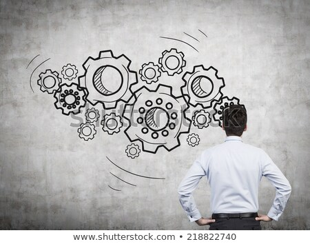 creative process on the cogwheels stock photo © tashatuvango