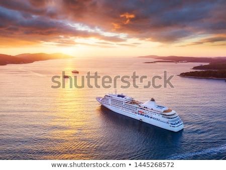 Cruise to Croatia Stock photo © joyr