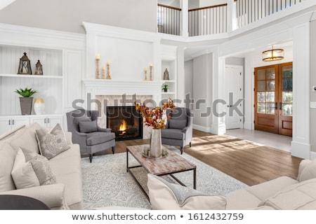 Stock photo: Front Door And Foyer Of Luxury Home