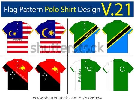 Pakistan vlag shirt zakenman tonen man Stockfoto © fuzzbones0