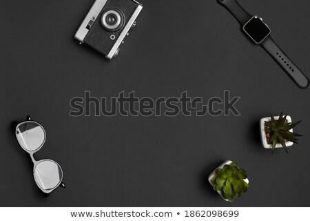 nowoczesne · przestarzały · kamery · film · metal · retro - zdjęcia stock © Paha_L