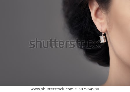 Close up Detail of a Beautiful Earring in Glamour Shot  Stock photo © NicoletaIonescu