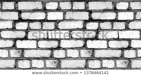 Raster Seamless Grungy Brick Texture Stock photo © CreatorsClub