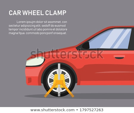 Clamped car Stock photo © 5xinc