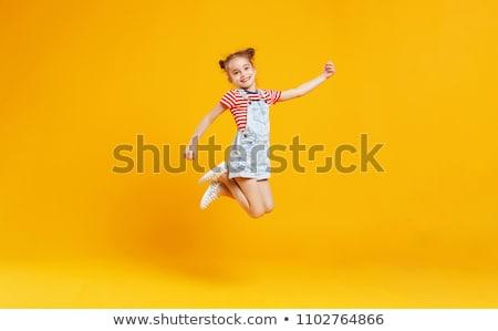 幸せ 子 遊び場 小さな 笑い ストックフォト © karin59