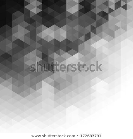 Kifakult szürke absztrakt mértani forma Stock fotó © SArts