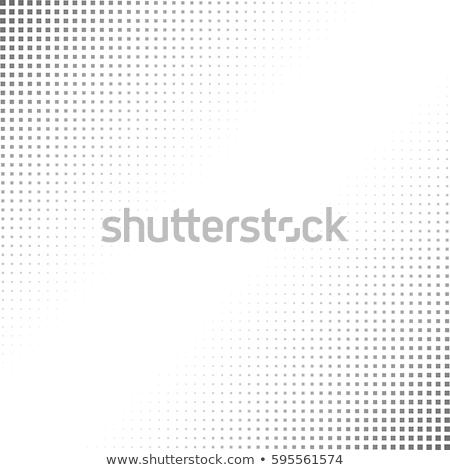Streszczenie rogu wzór zestaw vintage wektora Zdjęcia stock © kostins