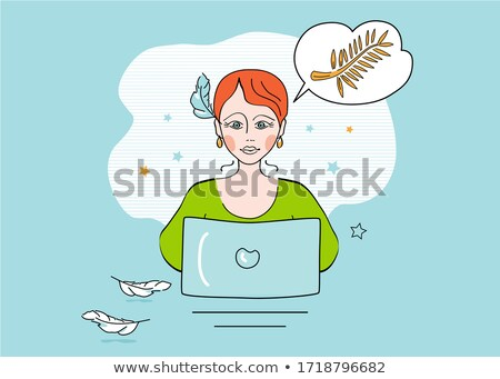 Best Content - Concept on Laptop Screen. Stock photo © tashatuvango