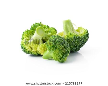 Uno greggio broccoli fresche maturo primo piano Foto d'archivio © zhekos