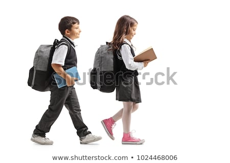 child walking with books Stock photo © IS2