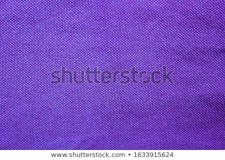 Sötét lila vászon szövet közelkép kilátás Stock fotó © LightFieldStudios