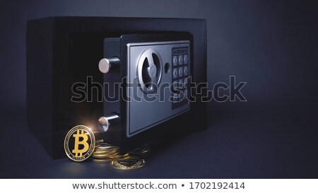 Bitcoin Safe Concept Stock photo © Krisdog