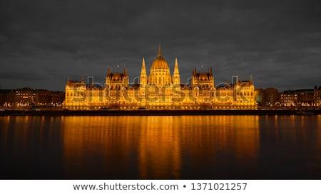 парламент здании ночь мнение Будапешт Сток-фото © magraphics