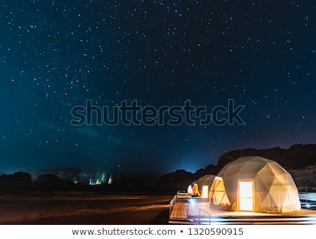 Tourism-Camp -Wadi Rum-Jordan stock photo © FreeProd