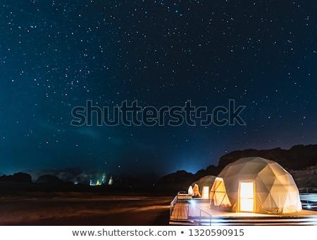 Tourism-Camp -Wadi Rum-Jordan Stock photo © FreeProd