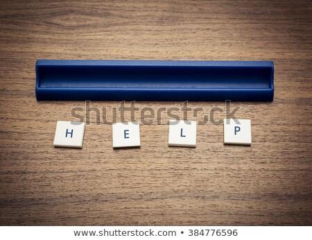 игры плитка письма правописание помочь Сток-фото © IS2
