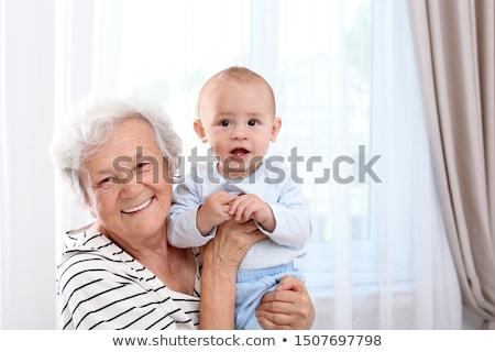Grand-mère bébé petit-fils femme Homme Photo stock © IS2