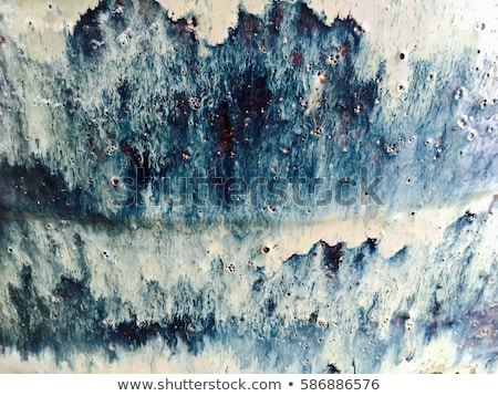 Beautiful glazes absrtact effect of handmade ceramic texture background. Stock photo © artjazz