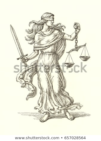 Allegory of  justice Stock photo © Epitavi