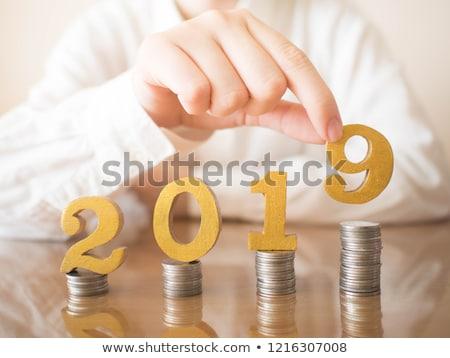 予算 年 手 書く マーカー 透明な ストックフォト © ivelin