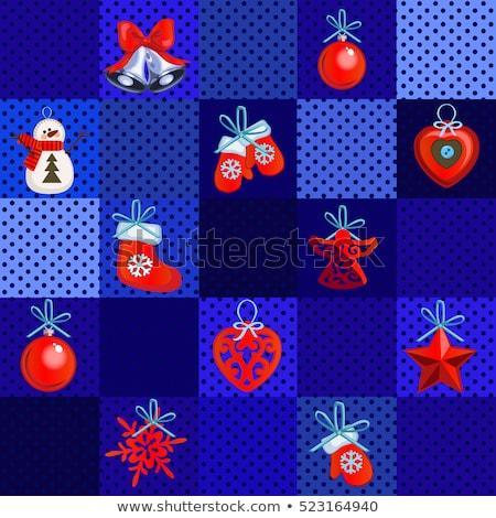 Esantion proiect hartie de ambalaj anul nou Crăciun schiţă Imagine de stoc © Lady-Luck
