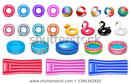 Swimming Equipment Vector Icon Cartoon Style. Stock photo © robuart