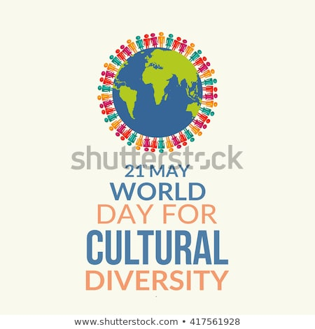 Diverse people around the world for solidarity day Stock photo © cienpies