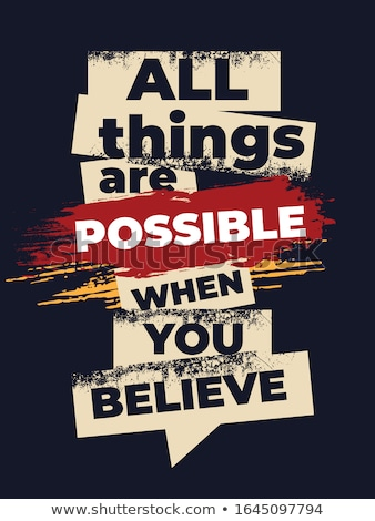 Stockfoto: Anything Is Possible