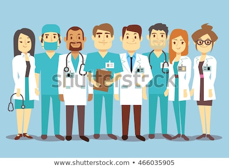 группа · хирурги · хирургии · врач · медицинской · комнату - Сток-фото © robuart