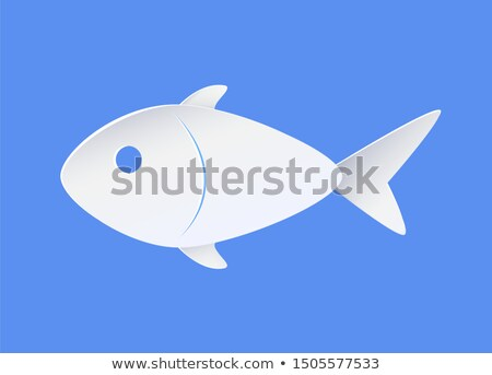 fish sample icon symbol of nautical marine life stock photo © robuart