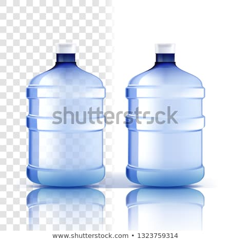 Foto stock: Plástico · botella · vector · completo · objeto · clásico