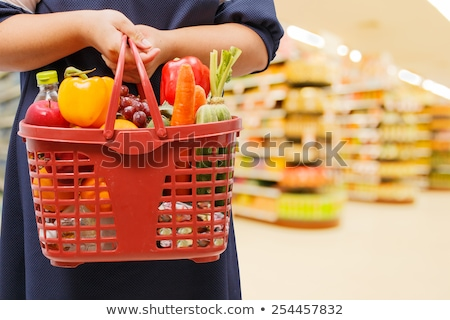 Buyer of a healthy food Stock photo © Anna_Om