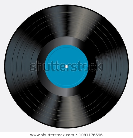 Vintage gramophone with retro vinyl disc Stock photo © LoopAll