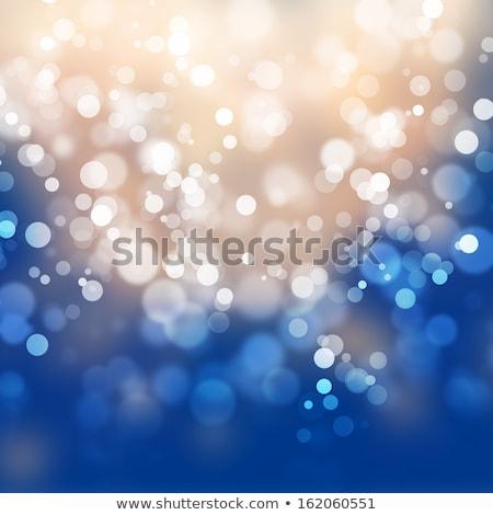 Bleu linéaire lignes design résumé Photo stock © SArts