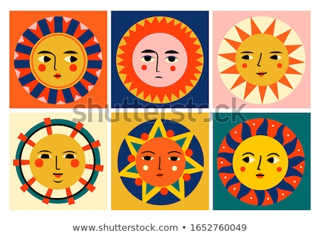 various colorful abstract icons set 6 stock photo © cidepix