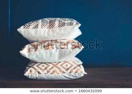 Prateleira macio almofadas Foto stock © dashapetrenko