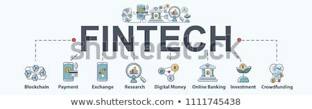 Innovación mínimo infografía banner vector web Foto stock © pikepicture
