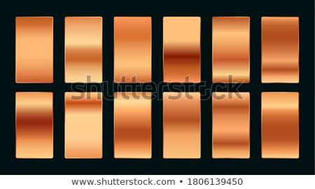 Réz rózsa arany prémium gradiens paletta Stock fotó © SArts