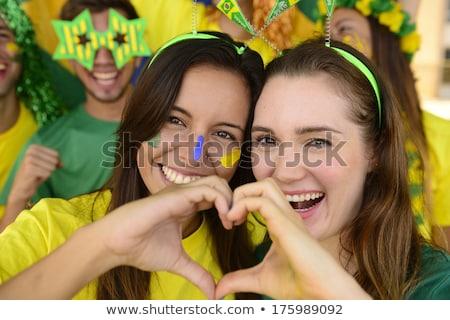 オーストラリア人 · サッカー · 草 · フラグ · 空 - ストックフォト © Saphira