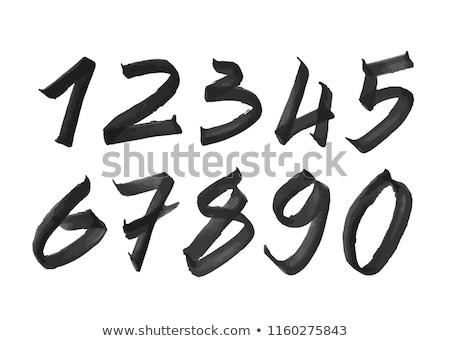 Marker Numbers stock photo © swatchandsoda