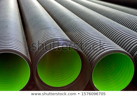 black pvc hoses stock photo © deyangeorgiev