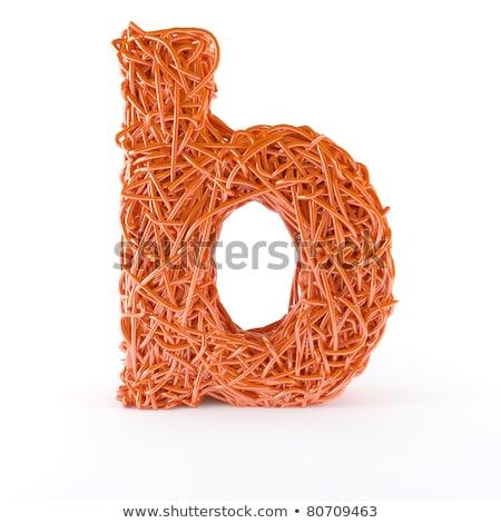Soyut tel kırmızı Stok fotoğraf © jordygraph