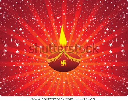 abstract artistic deepawali deepak wallpaper Stock photo © pathakdesigner