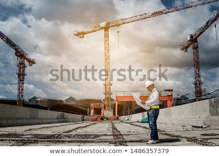 Civil engineers onsite Stock photo © photography33