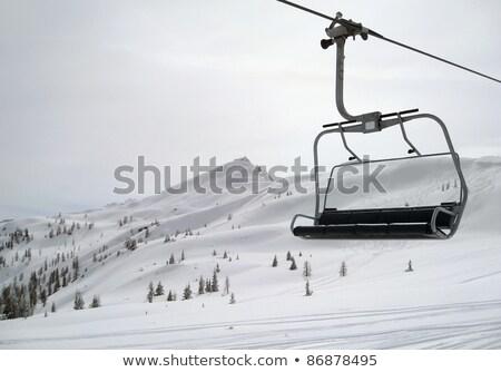 Ski Lift In Wagrain Photo stock © PRILL