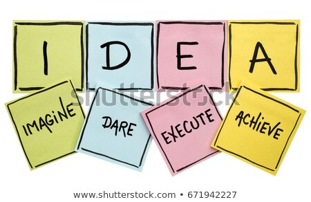 Acronym of IDEA Stock photo © bbbar