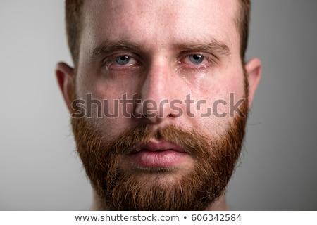 человека · лице · рук · выстрел · сидят · скалолазания - Сток-фото © stevanovicigor