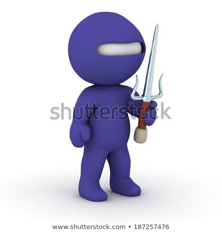 Stock fotó: 3d Small People - Ninja
