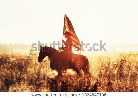 Dead horseman Stock photo © vadimmmus