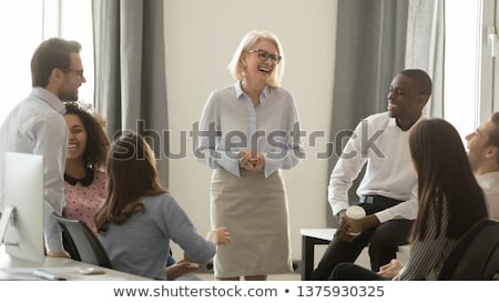 A group of businesspeople having a meeting Stock photo © photography33